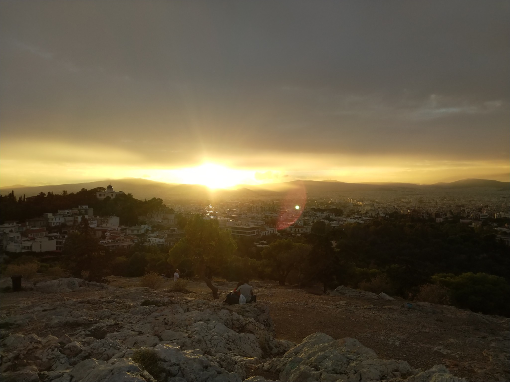 Sunset from the Acropolis